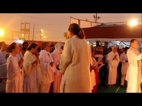 महाकुम्भ २०१३ प्रयाग में सांध्य आरती
