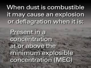 NADCA's Combustible Dust Training - Section 1
