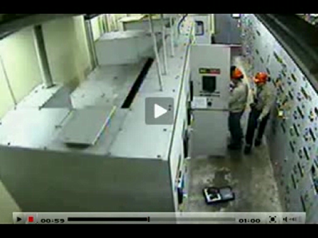 Actual Arc Flash Incident Caught on Tape