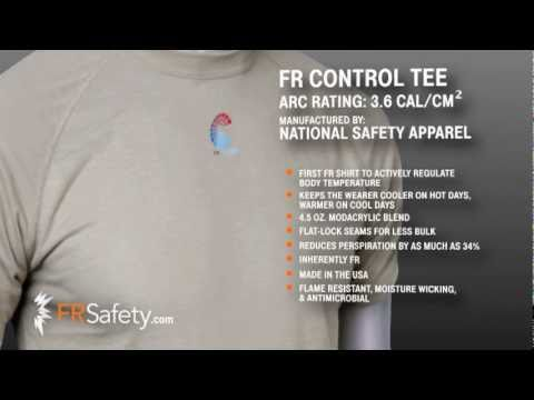 FR Control Tee from National Safety Apparel