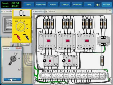 Troubleshooting of Electrical Motor Control Circuit