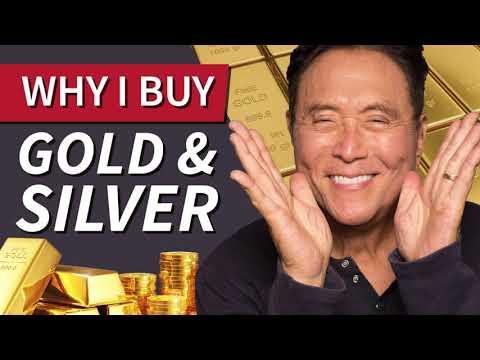 Why Robert Kiyosaki buys Gold and Silver -Robert Kiyosaki