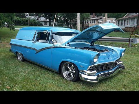 1956 Ford Fairlane Sedan Delivery Street Rod