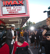 "Nick Leisure. ""a Clear Shot"" Mario Van Peebles. IMax 7-12-2019"