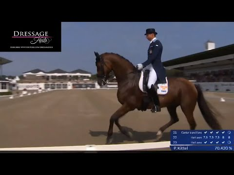 Patrik Kittel And Well Done De La Roche Win The Grand Prix Special With 73.5%