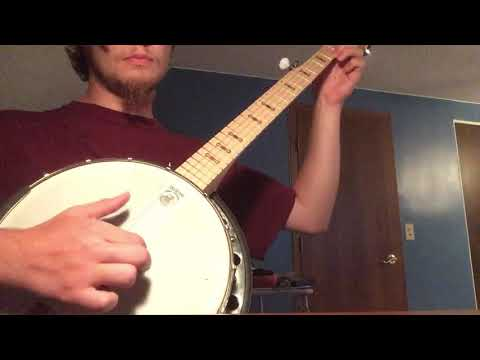 Minstrel banjo beginner progress marker - Old Dan Tucker/Jim Along Josie