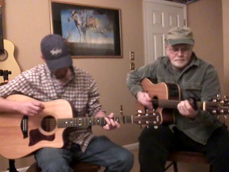 whiskey before breakfast-twin pickin