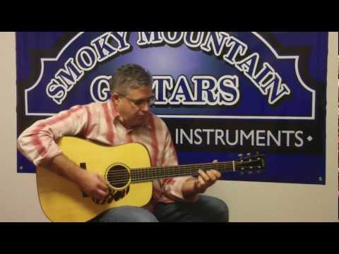Kenny Smith plays Cumberland Gap at Smoky Mtn. Guitars