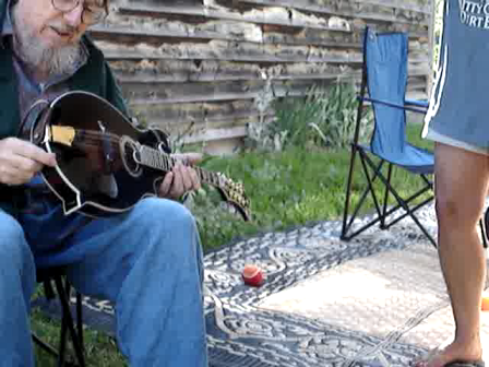 Norman Blake visits and talks about frets ..