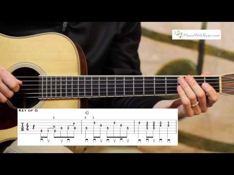 Will the Circle Be Unbroken Advanced Guitar Lesson- Hot Bluegrass Lead