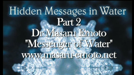 "Dr Masaru Emoto ""Power of Prayer"" for Fukushima  Pt 2"