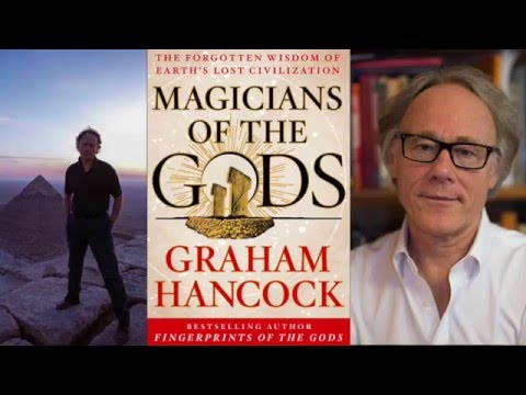 "Graham Hancock ""Magicians of the Gods"" Testimonials in Sedona"
