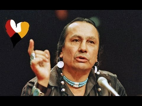 American Indian Activist Russell Means Powerful Speech, 1989