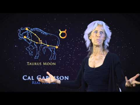 Taurus Moon Announcing Cal Garrison's New Online School of Astrology Launch 2014