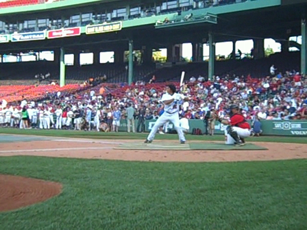 Ricky Oropesa (USC) Chatham Anglers-Cape Cod League Home Run Derby FINALS, 2010. Fenway Park. Boston, MA.