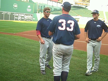 Bourne Braves getting ready for Home Run Derby- 2010 CCBL