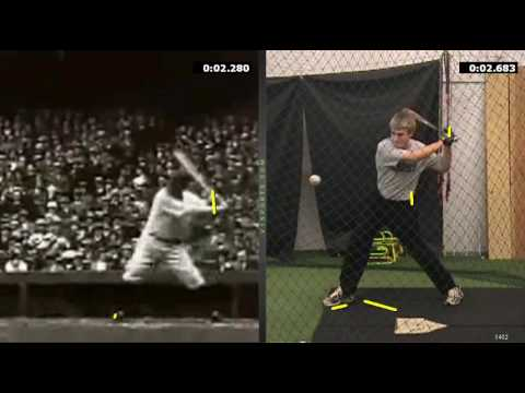Babe Ruth Hitting Mechanics