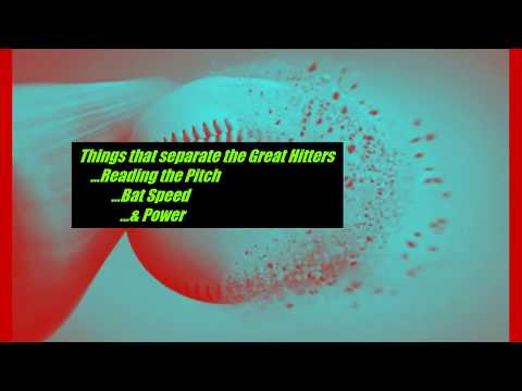 Power Batting ...Things that separate the great hitters from the average hitters