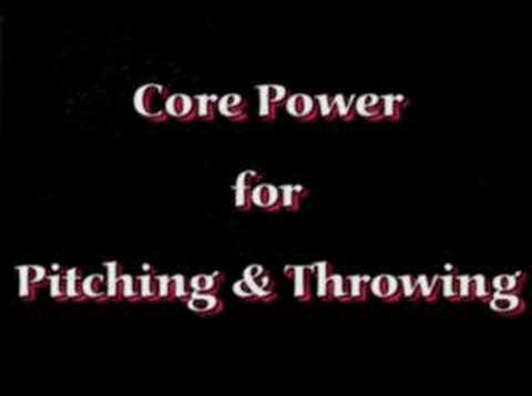 Power Baseball ... Power Pitching & Throwing