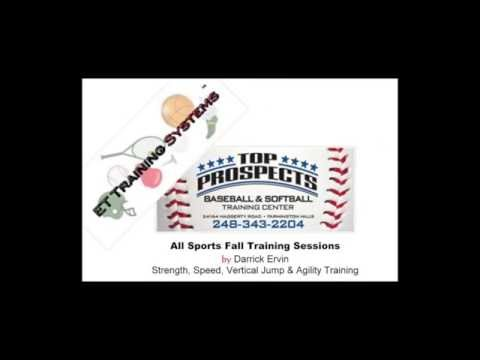 All Sports Fall Training Session Ad