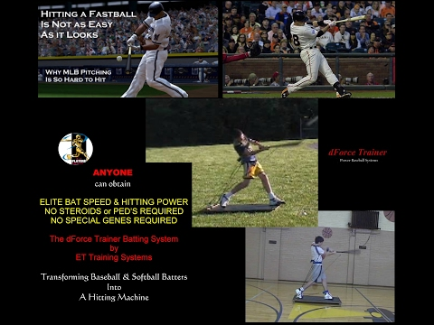 It all about bat speed and swing mechanics