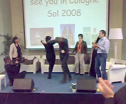 Bruges 2007 Reach Out finale
