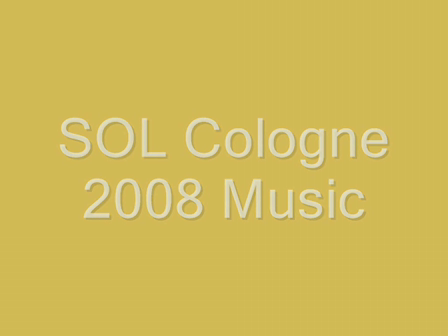 Music of SOLWorld Cologne