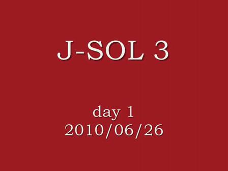 J-SOL3 day1