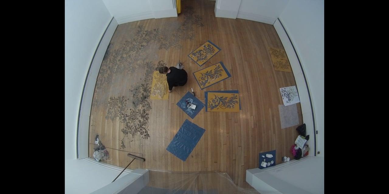 Catherine Bertola - Carpet of Dust