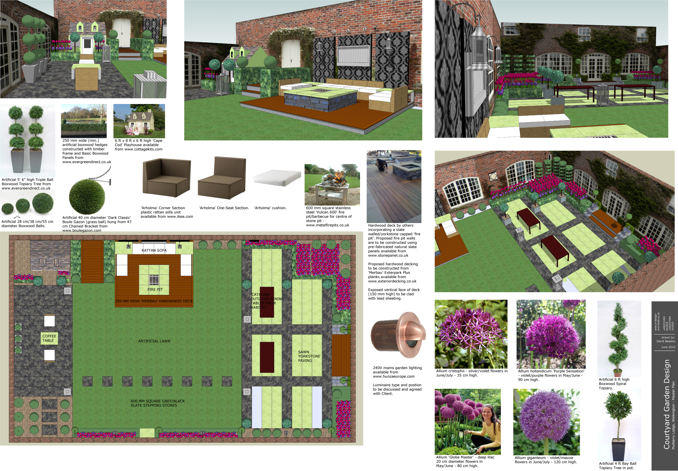 2D AND 3D GARDEN DESIGN / VISUALISATION SERVICES - LJN ...
