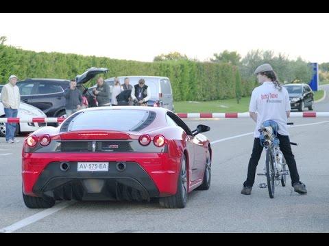 Bicycle World Record 207 mph   333 km/h François Gissy