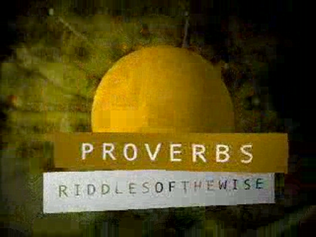 A Proverb About Money
