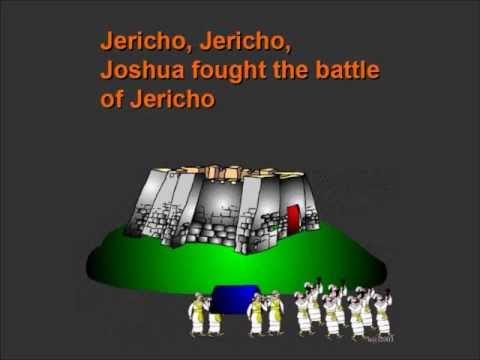 Joshua Fought the Battle of Jericho