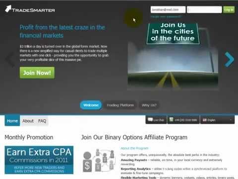 Trade Smarter - Binary Options Affiliate Program