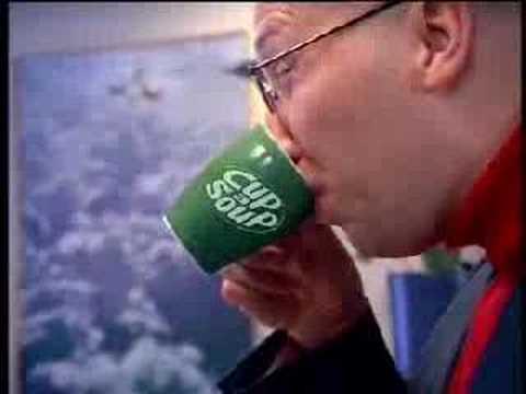 Cup a soup reclame Sjors