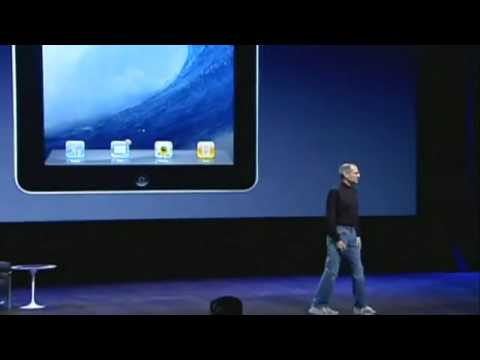 Steve Jobs lanceert iPad