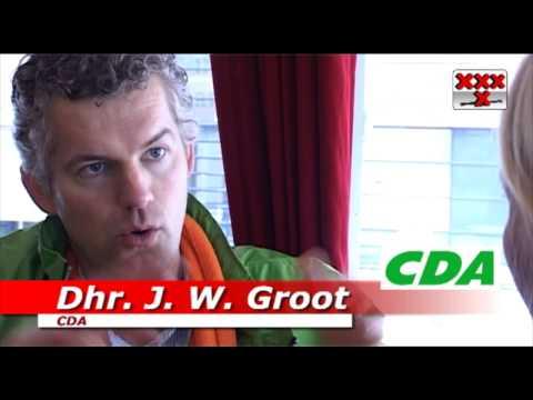 www.amstel1.tv - Jan Willem Groot lijsttrekker Christen-Democratisch Appèl