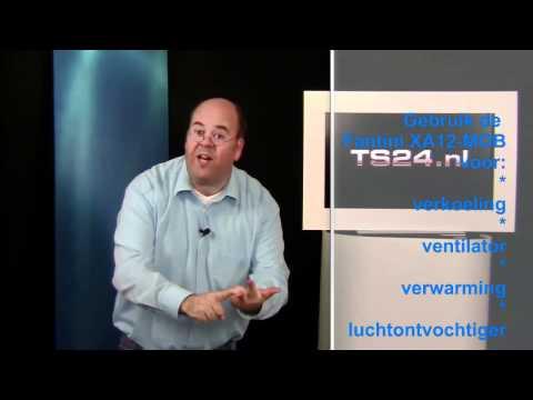 TS24.nl Mobiele Airco, Airconditioner, Aircondtioning Fantini met Verwarming