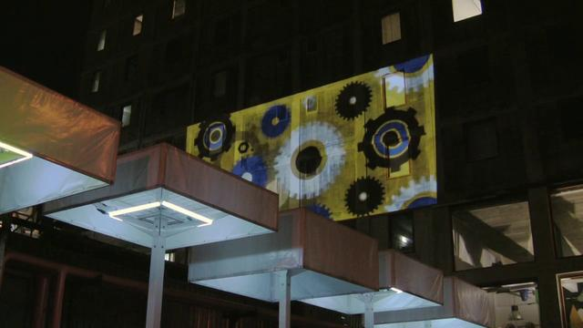 Koelstof - Urban projection mapping