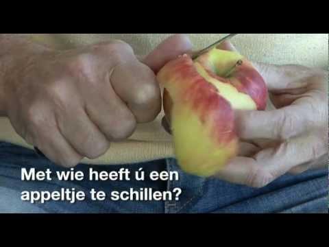Met wie heeft ú een appeltje te schillen?