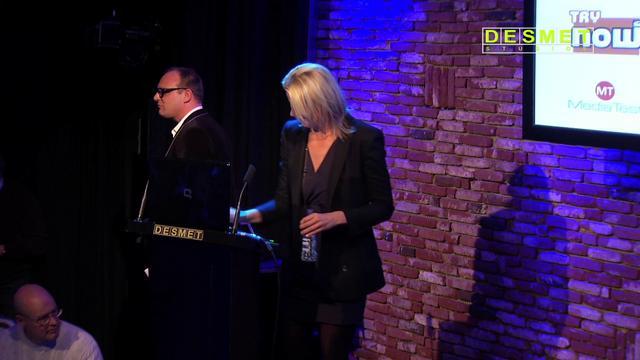 Lot Keijzer spreekt voor NME7
