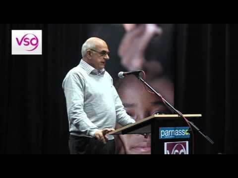 Lezing van Jan Pronk tijdens de VSO Meet Again dag in Utrecht
