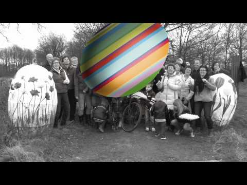 PIMP OW EI -  Route met eigen kunstwerken in Hegelsom  22 april t/m 7 oktober 2012.