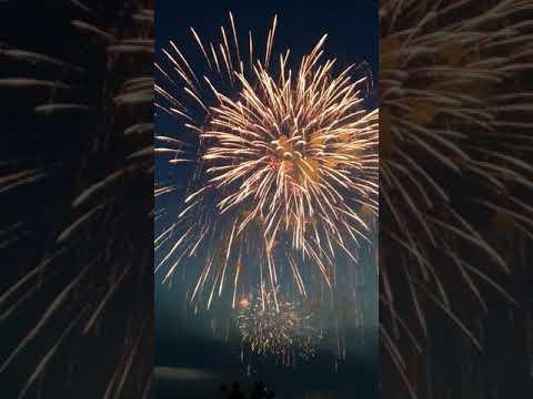 Vuurwerk Scheveningen 2018 - Oostenrijk.