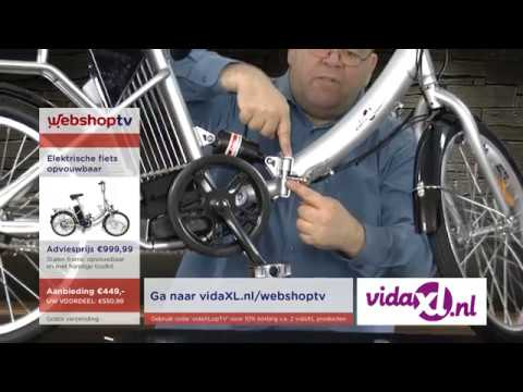 WebshopTV Invicta 23628 VidaXL partytent VidaXL Ebike mp4