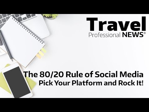 The 80 20 Rule of Social Media — Pick Your Platform and Rock It! Presented by Andy Ogg
