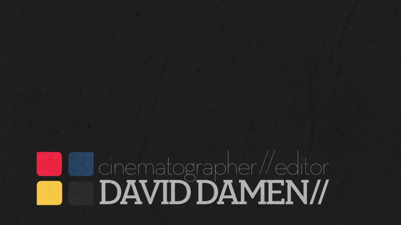 David Damen // | 2013 Showreel