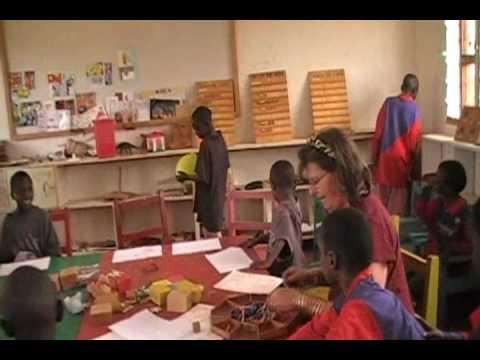 Samburu tribe Northern Kenya Art therapy