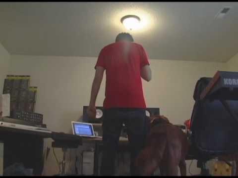 Music Producer Seven Making A Beat For XV