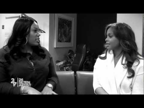 Singer Chrisette Michele Gives Artists Advice
